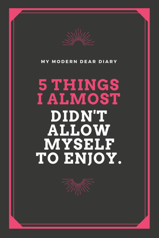 MY MODERN DEAR DIARY