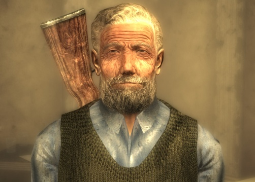 Herbert, living out his cozy retirement in Tenpenny Tower