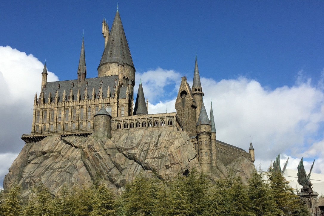 hogwarts castle wizarding world