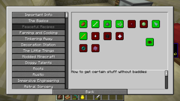 Here is how the game helps you get the items that are normally only dropped from mobs.